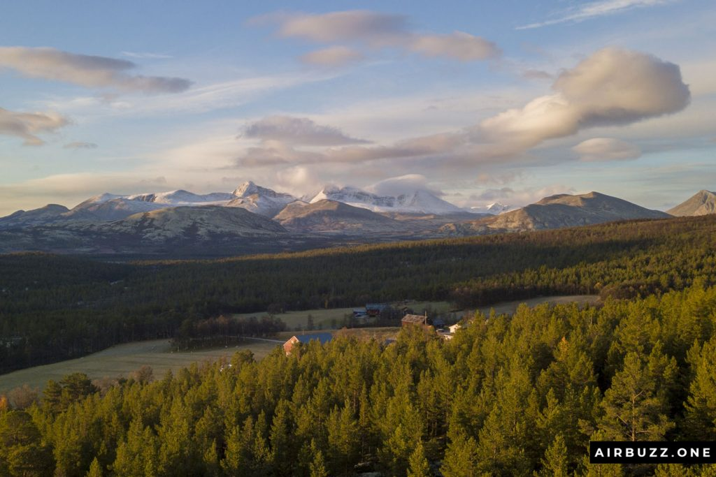 View towards Rondane.