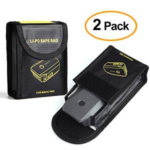 KuuqaFire- and Explosion-proof Li-Po Battery Safe Bag