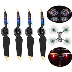 Flashing LED Propellers