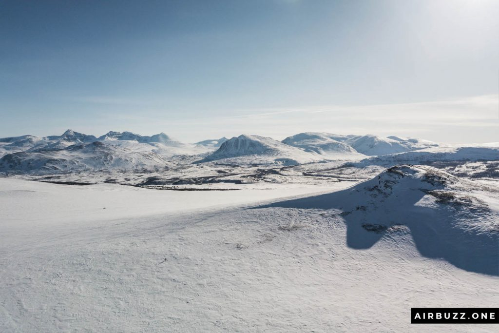 View towards Rondane National Park