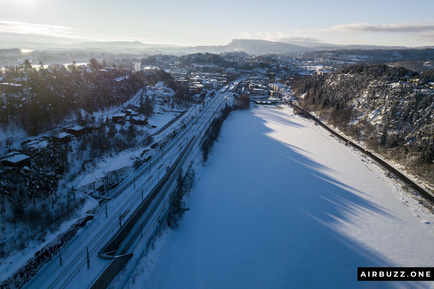 Frozen lake - Engervannet.