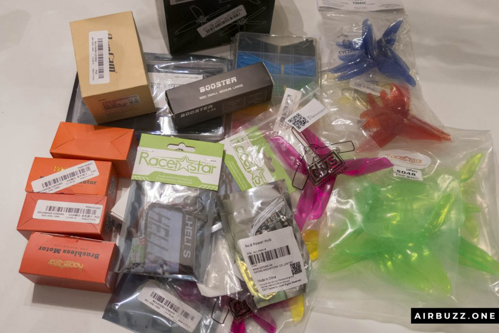 Lots of exciting new drone components!