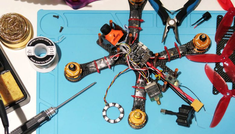 FPV Quadcopter Drone Building Tips for Beginners! - AirBuzz