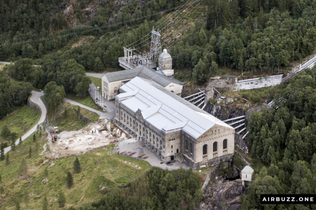 Once the world's largest hydroelectric power plant. Now a museum.