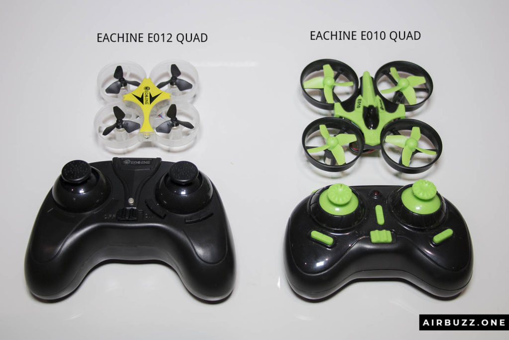 Comparison of the E012 and E010 controllers.