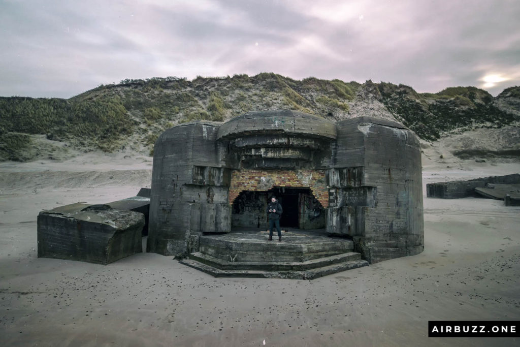 Awesome sci-fi looking bunkers.